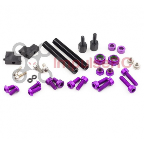 "ImpulseRC Alien 5"" & 6"" Fastener Spares Kit - Purple"