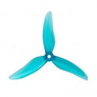 Set of 4 Gemfan 51499 3-Blade Hurricane Clear Blue
