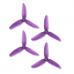 HQProp DP 5x4.3x3 PC V1S Propeller - 3 Blade (2CW+2CCW/Bag)