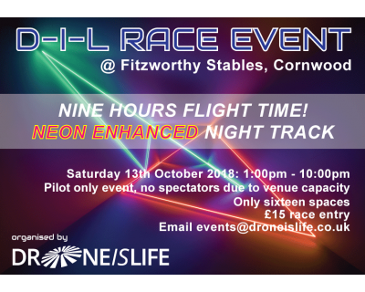 Neon Enhanced FPV Race Event